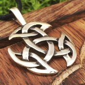 Celtic Knot trippel silver